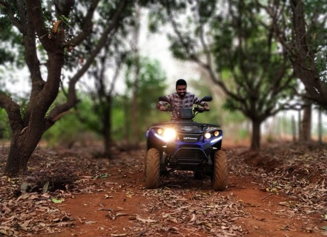 ATV ride in Kolad