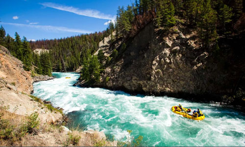 Chilko River rafting