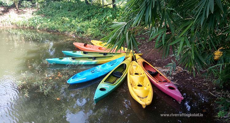kayaking in kolad