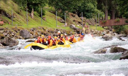 Noce River rafting