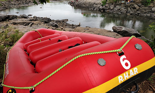rafting boat & equipments