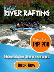 River rafting offer