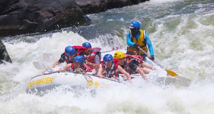 River rafting destinations around the world