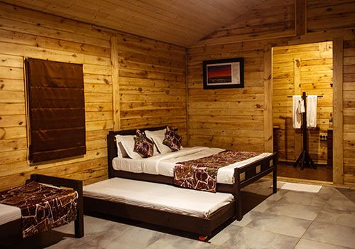 wooden villa stay images
