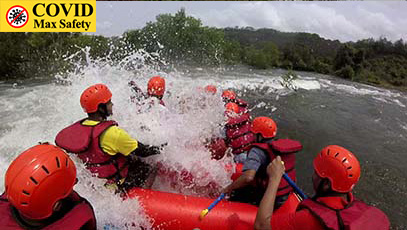 river rafting with transport